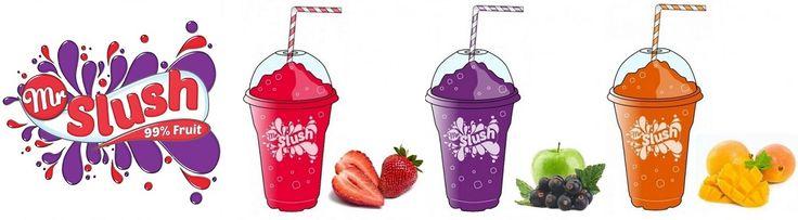 Real Fruit Slush Syrups