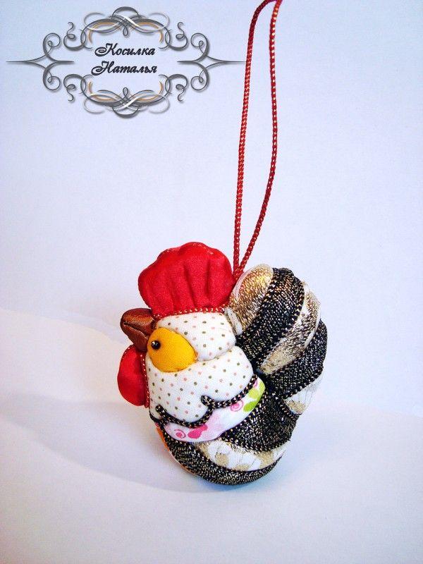 Кимэкоми - японская традиционная кукла. Петушок.