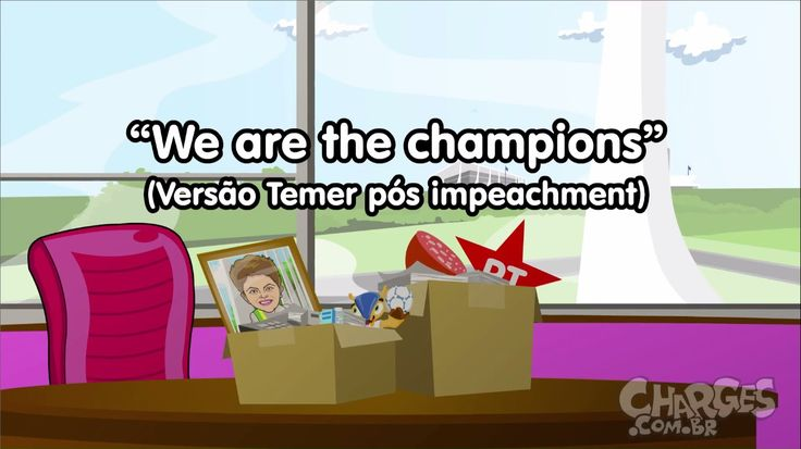 SOU O PRESIDENTE | Paródia Queen - We Are The Champions
