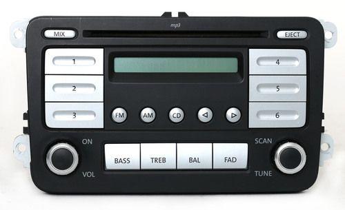 2005-2010 Volkswagen EOS Jetta GLI Passat AM FM Radio CD mp3 Player - 1K0035161B