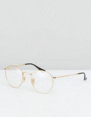 Gafas de ver transparentes y redondas de Ray Ban   ray ban active ... 7406e964a8