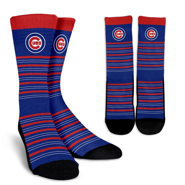 Amazing Circle Charming Chicago Cubs Crew Socks – Best Funny Store