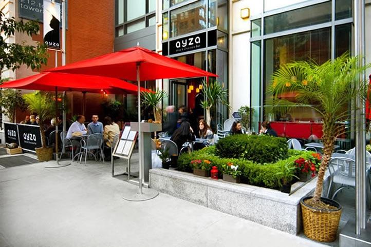 Ayza Wine & Chocolate Bar ⎪ Wine Bar NYC ⎪ Best Romantic Restaurant