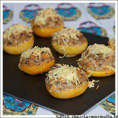 Navets boule d'or farcis aux champignons | Marmotte cuisine !
