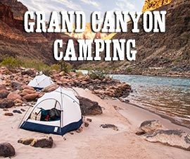 Grand Canyon Camping Guide, with maps • James Kaiser. Descriptions and info about camping locations at the North and the South Rims.