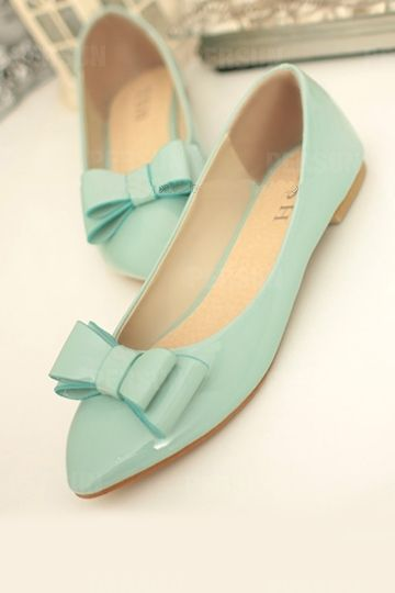 Bowknot Candy Color Flat [FABI1301]- US$39.99 - PersunMall.com