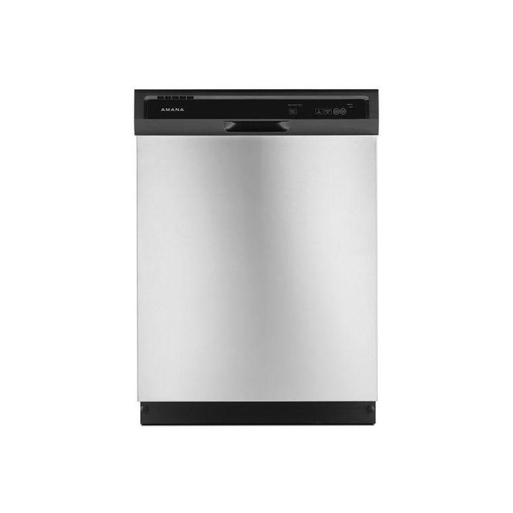 Amana ADB1300AF 24 Inch Wide Twelve Place Setting Built-In Dishwasher with Tripl Stainless Steel Dishwashers Dishwasher Built-In