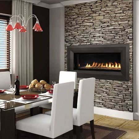 Awesome Superior Fireplaces 43 Inch Natural Gas Electronic Ignition Linear Outdoor  Vent Free Fireplace