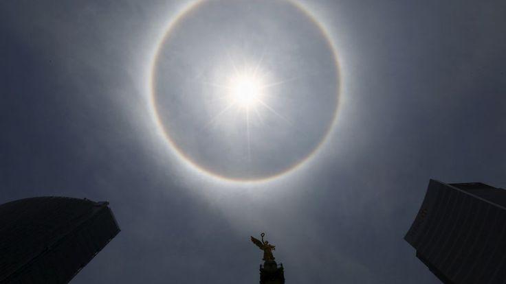 Sol-glorie sender mexicanere i panik: Er dommedag nær? | Nyhederne