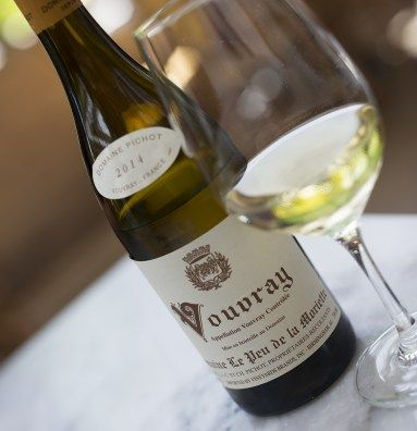 I love this Vouvray at #BistroJeanty!