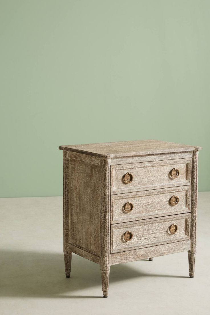 Mirror nightstands contemporary bedroom kimberley seldon design - Shop The Washed Wood Nightstand And More Anthropologie At Anthropologie Today Read Customer Reviews