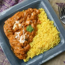Slow cooked tasty chicken curry@ allrecipes.co.uk
