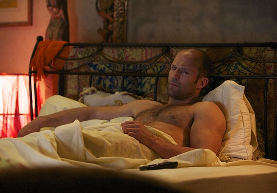 Jason (Arthur Bishop)~yes I would love to crawl in beside him...-courtesy The Mechanic