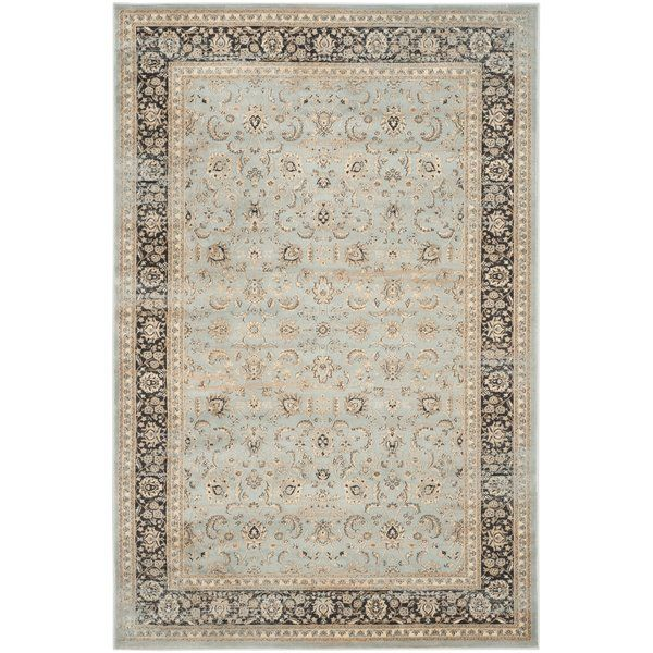 Best Place To Buy Vintage Stone Blue Black Area Rug By Safavieh