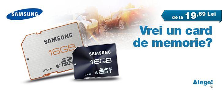 Carduri de memorie Samsung