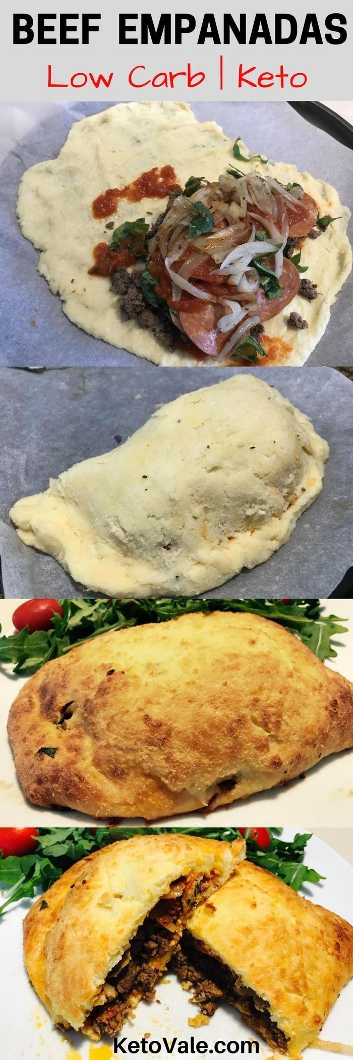 Low Carb Keto Beef Empanadas