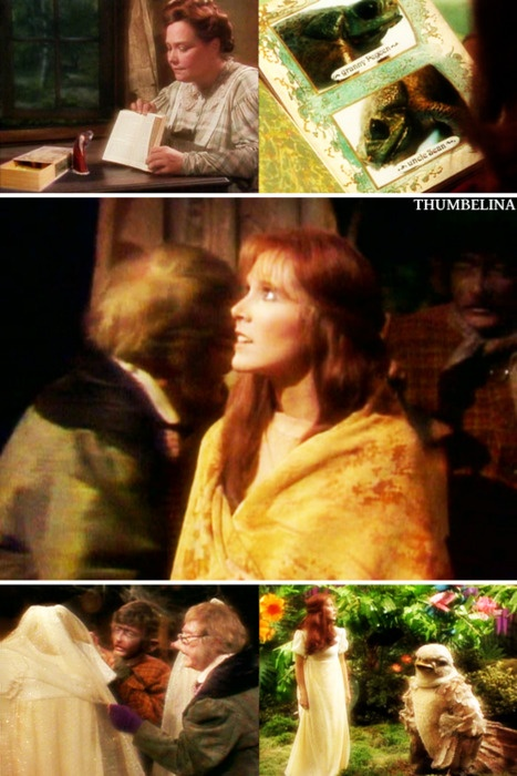 Wow! I just realized Carrie Fisher was Thumbelina in the Faerie Tale Theatre version.