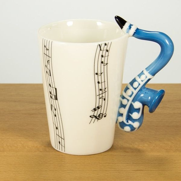 Kubek muzyka saksofon :).
