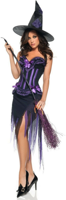 Adult Purple Witch Costume