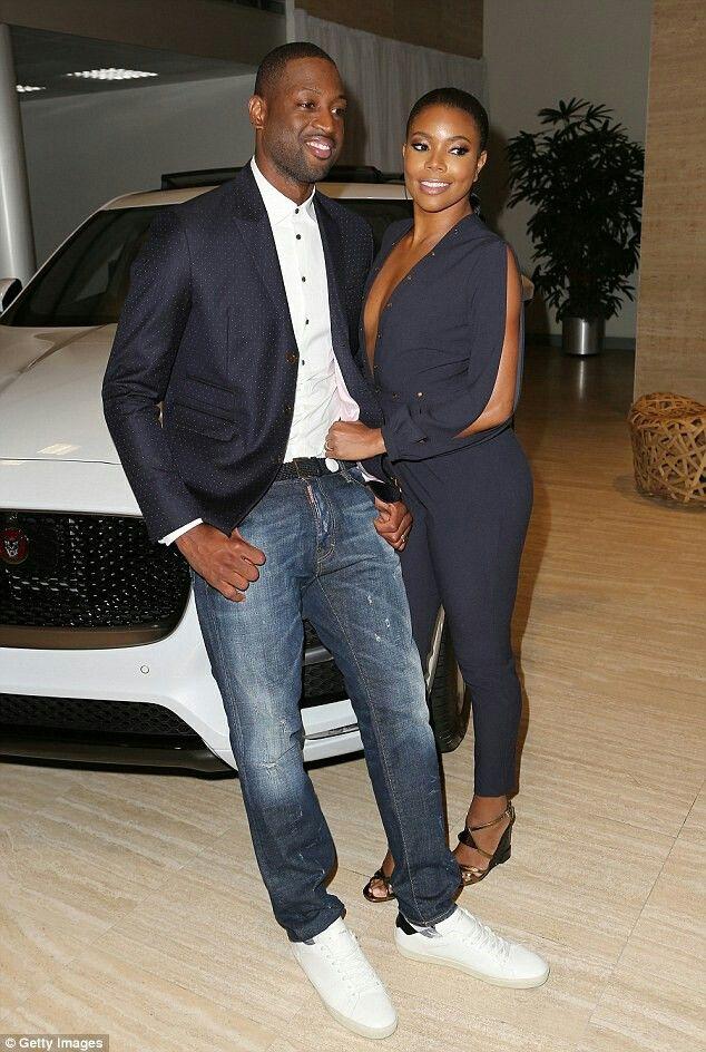 Dwayne Wade & wife Gabrielle Union