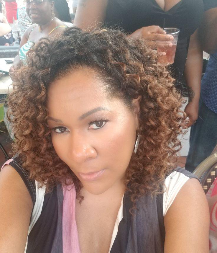 Freetress Beach Curl Ombre Ot30 Crochet Braids Wig