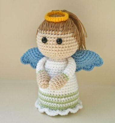 11dc18b180 Horgolt angyalka baba (ingyenes amigurumi minta) ❤Mindy - kreatív ötletek  és dekorációk minden napra