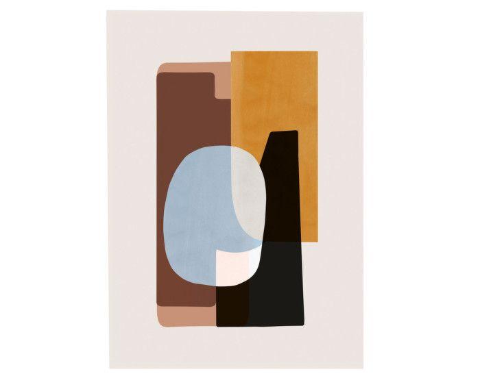 Plakát 50x70 Abstraction 1