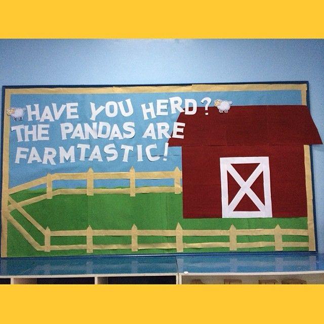 Bulletin Board Ideas 2 Year Olds: Best 25+ Farm Bulletin Board Ideas On Pinterest