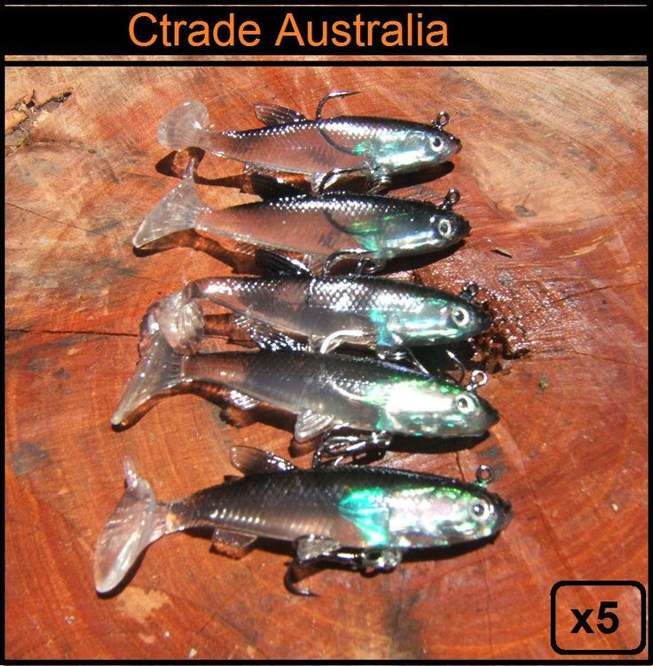 X5 Vibe lure soft plastics Ctrade Mad Mullet paddle tail soft vibe lures rigged