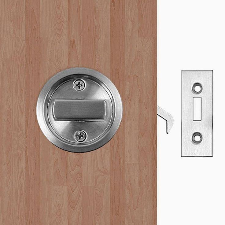 Modern Pocket Door Privacy Lock