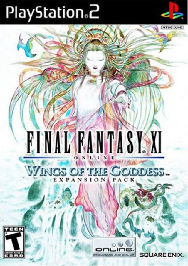 Final Fantasy XI Wings of the Goddess Sony Playstation 2 Game