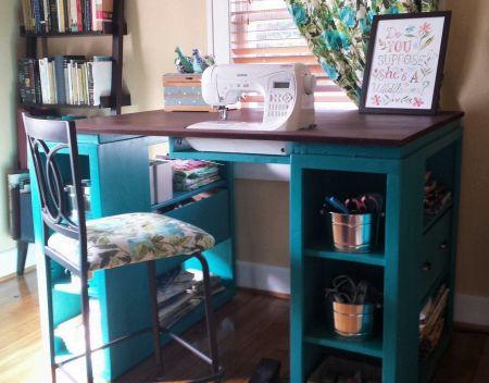 Best 25 Sewing Desk Ideas On Pinterest