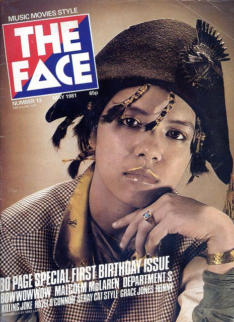 Annabella Lwin (Bow Wow Wow) from The Face (May, 1981)