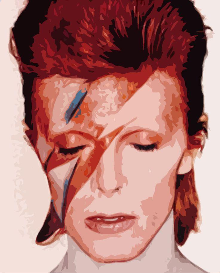 David Bowie: Davidbowie, Ziggy Stardust, Aladdin Sane, Aladdinsane, Faces Makeup, Glam Rocks, Fairies Makeup, David Bowie, Glam Rock