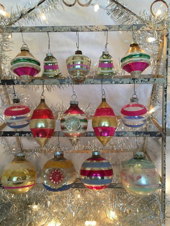 True Vintage Mercury Glass Christmas Ornament by CowgirlPoetry