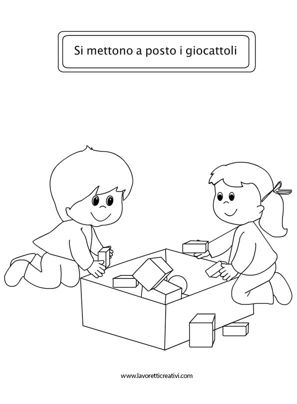 good behavior coloring pages - photo#14