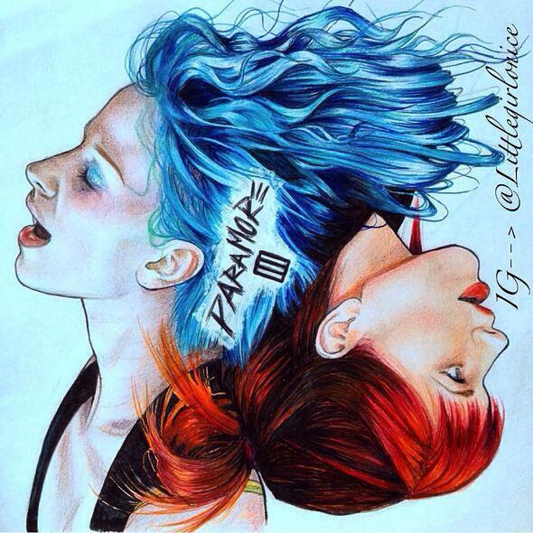 Paramore fan art! This is amaziiiiing!! ^*^