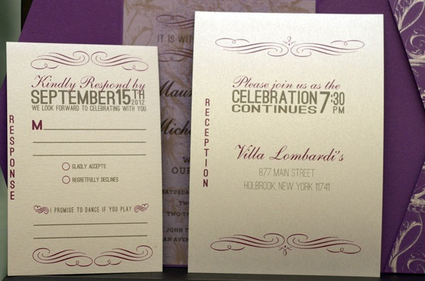 Custom wedding inviteCustom Invitations, Maureen Invitations