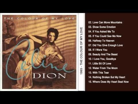 """The Colour Of My Love"" (Full Album) - Celine Dion"