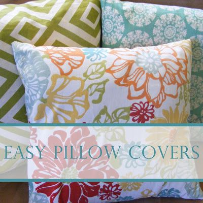 Diy Decorative Pillow Covers : 169 best images about DIY Decorative Pillows on Pinterest Cute pillows, Pillow tutorial and ...