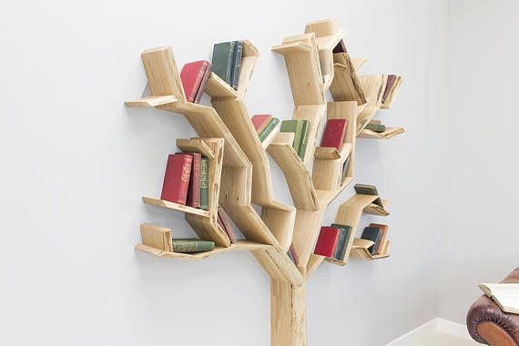 25+ Unique Tree Shelf Ideas On Pinterest