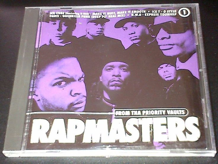 #rozasebay Rapmasters Vol 1 from the Priority Records Vaults ft Nice & Smooth Eazy E EPMD