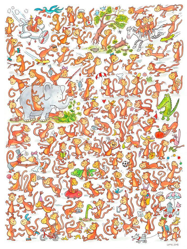 Supercoole Wimmelbilder zu div. Themen von Charlotte Wagner