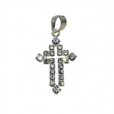 Diamante Cross  - #poshprezzi