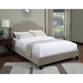 everton queen upholstered bed includes headboard and bed frame - Queen Upholstered Bed Frame