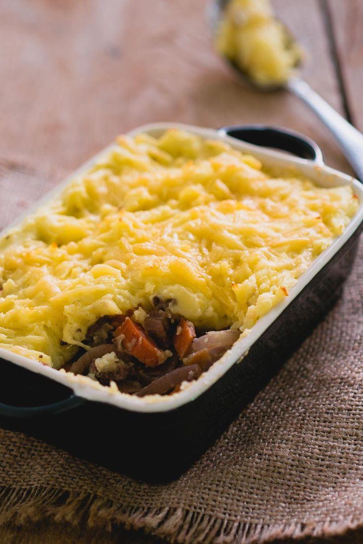 Comfort food op z'n best. Shepherd's pie komt oorspronkelijk uit Ierland en daar weten ze blijkbaar wat lekker eten is!