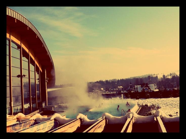 Relax w Termie zimą