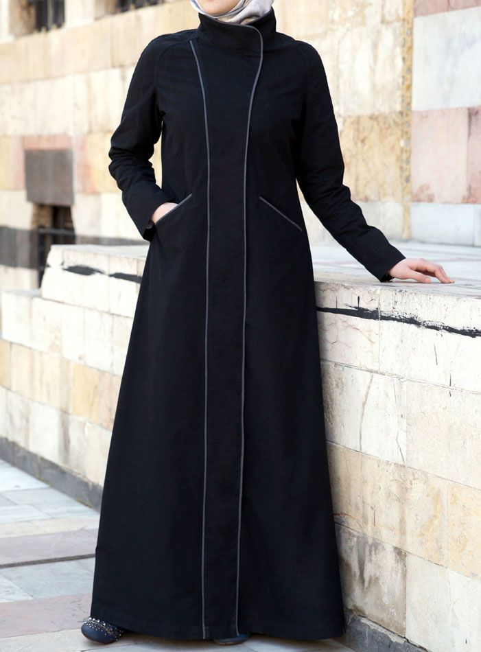 Salikah Jilbab from SHUKR, love the piping detail...