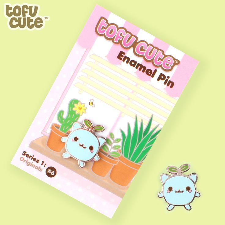 Buy Tofu Cute Enamel Pin Series 1 (Originals) - Seedling at Tofu Cute