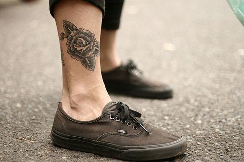 Fancy - Leg tattoo